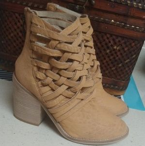 Free People Carrera Ankle Boots.
